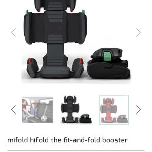 New Mifold He Fold The Fit Booster for Sale in Costa Mesa, CA