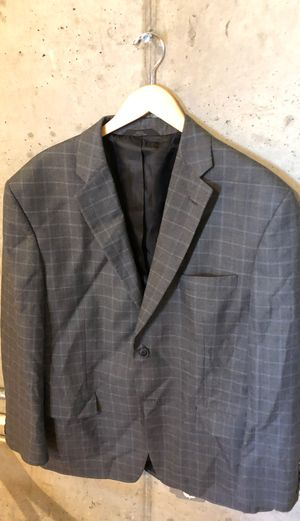 Grey pinstripes sports coat for Sale in Fresno, CA