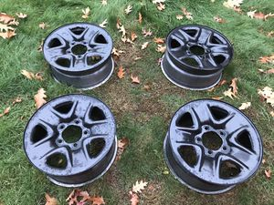 2012 toyota tundra steel rims size 18x8 in for Sale in Monson, MA