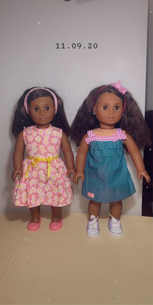 American girl dolls- both for $90 for Sale in Hyattsville, MD