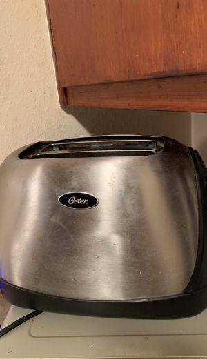 Black & Stainless Steel Toaster. Don't Need for Sale in Orlando, FL