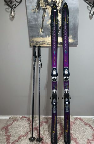 Dynastar adv legacy T-175 Skis with Scott brand series 2 poles for Sale in Carrollton, TX