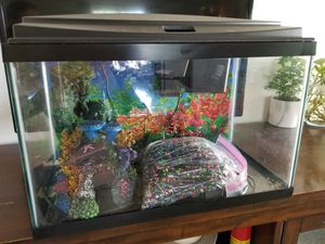 Fish Tank 10 gal with Lots of extras for Sale in San Diego, CA
