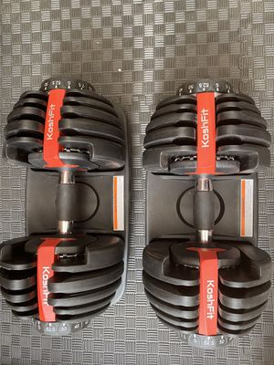 BRAND NEW ADJUSTABLE DUMBBELLS by Koshfit for Sale in Agua Dulce, CA