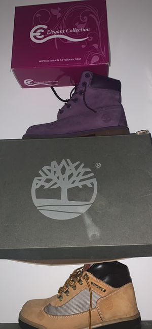 Brand new purple timberland boots for Sale in Aspen Hill, MD