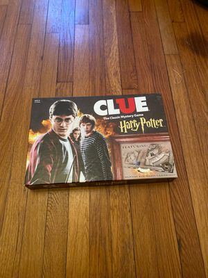Harry Potter clue board game for Sale in Braintree, MA