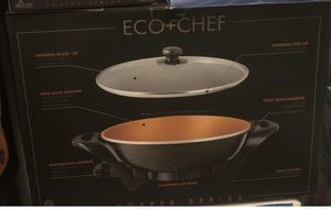Eco + Chef NEW Bronze Orange and black - Set or individual pieces for Sale in Spring, TX