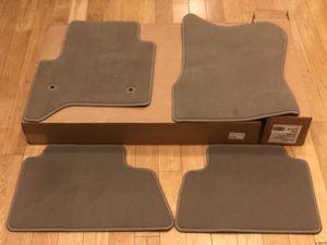 NEW 2015-19 GMC YUKON XL SLT DENALI Front & Rear Carpet floor mats Beige/Tan/Light Brown for Sale in Los Angeles, CA