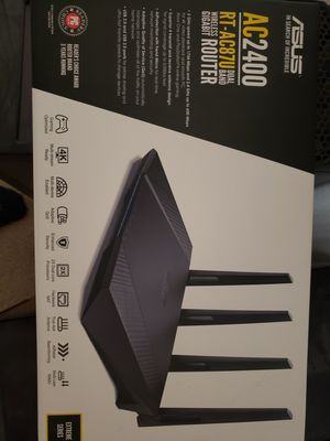 ASUS AC2400 RT-AC87U Wireless Gigabit Router for Sale in Arlington, TX
