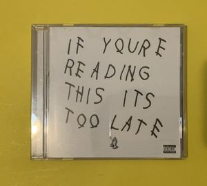 If you're reading this it's too late Drake Album Used for Sale in Norcross, GA