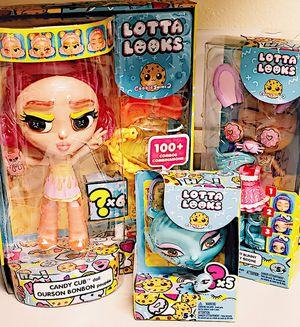 lotta looks doll bundle for Sale in Salt Lake City, UT