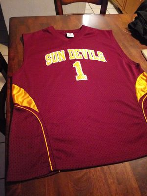 Men size XL. ASU Sun Devils Jersey. TRADE or cash. Intercambio o cash. Trade for size 7 converse. for Sale in Phoenix, AZ