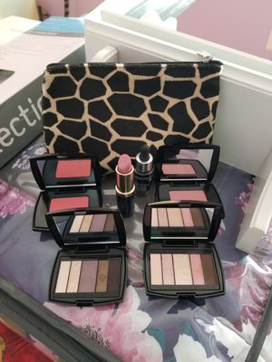 Brand new Lancome and Estee Lauder makeup with cosmetic bag for Sale in Sterling, VA
