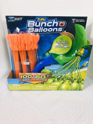 Zuru Bunch O Balloons Launcher w/Balloons for Sale in Providence, RI