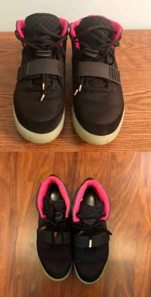 Retro Kanye Nike Air Yeezy 2 Black Solar sz 10 for Sale in Tampa, FL