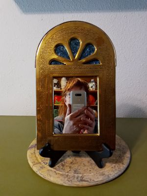 Brass Framed Wall Mirror for Sale in Federal Way, WA