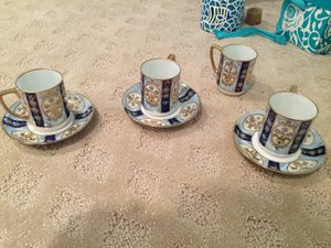 Japanese porcelain cup and saucer antiques for Sale in Fairfax, VA