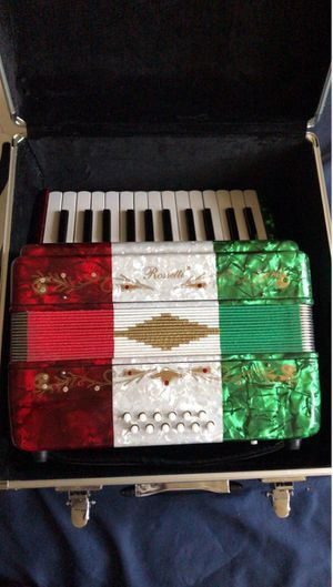 Rossetti piano accordion for Sale in Fontana, CA