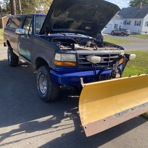 92-98 F150/Bronco Meyers Plow for Sale in Southington, CT
