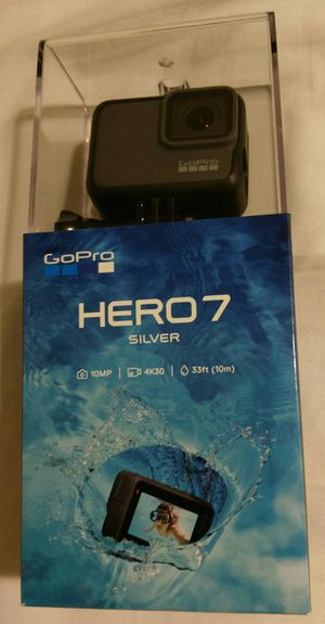 Brand New GoPro HERO7 Silver with receipt for Sale in Portland, OR
