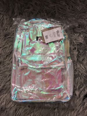 Dickies Clear Iridescent Backpack with Laptop Sleeve for Sale in Dearborn, MI