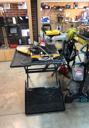 DEWALT TABLE SAW for Sale in Norfolk, VA