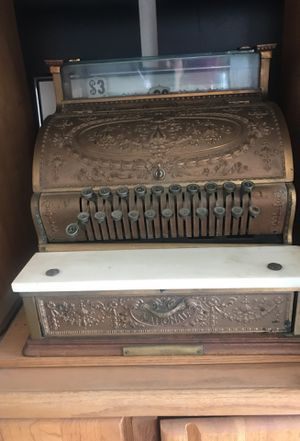 Old cash register for Sale in Sanger, CA