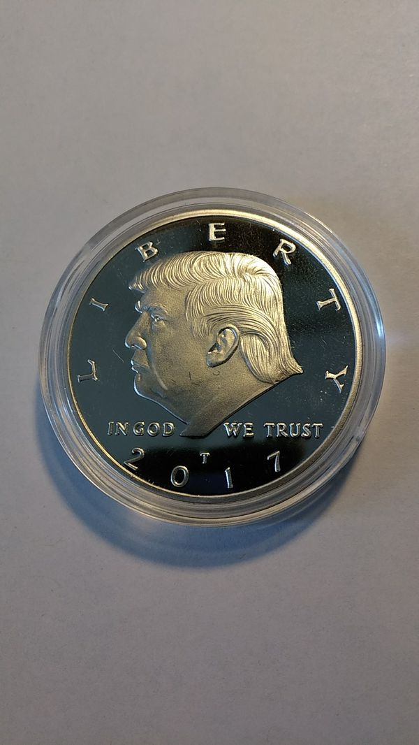 donald trump silver coins for sale