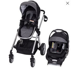 Baby Trend Go-Lite Snap Fit Sprout Travel System - Drip Drop (USED- GREAT CONDITION) for Sale for sale  Plant City, FL