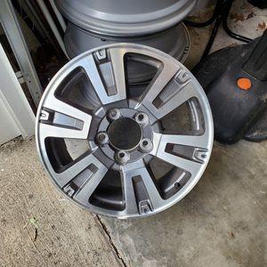 "20"" Toyota Alloy Rims and Center Caps for Sale in Virginia Beach, VA"