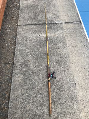 Abu Garcia Ambassadeur Fishing Reel 5000, plus Wright McGill Rod for Sale in Portland, OR