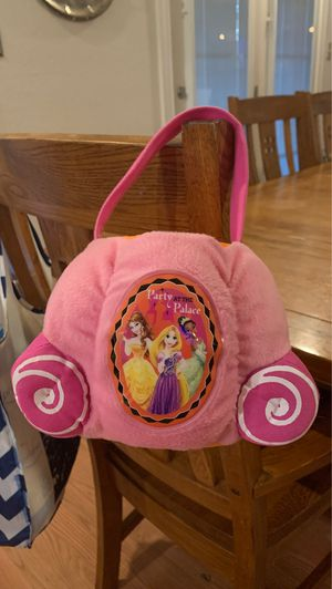 Halloween Trick or Treat Disney Princess Bucket for Sale in Round Rock, TX