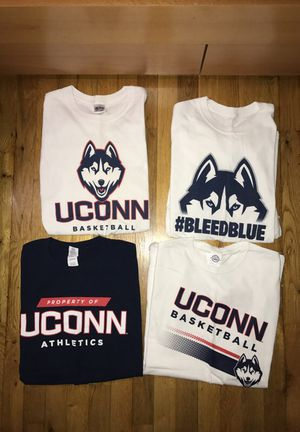 NEW UNWORN size Large UConn basketball/athletics cotton t shirts. for Sale for sale  Queens, NY