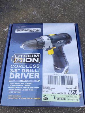 Cordless Drill Driver for Sale in Loganville, GA