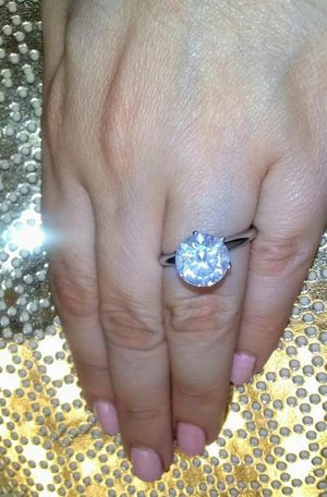 3 carat solitaire diamond ring for Sale in Atlanta, GA