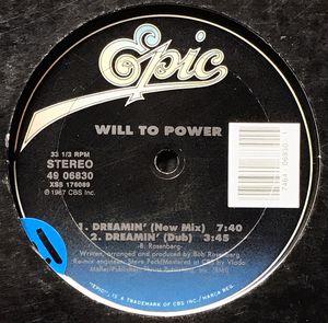 Will To Power - Dreamin' - (12-inch Vinyl Record) Single for Sale in Corona, CA