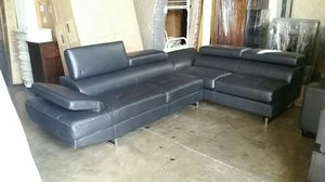 Black Sectional Sofa Couch set for Sale in Denver, CO