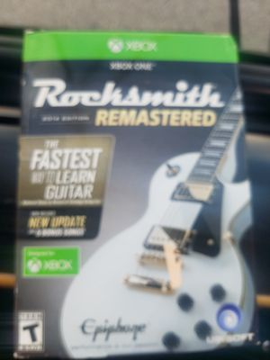 Rock Smith remastered learn guitar for Sale in Cleveland, OH