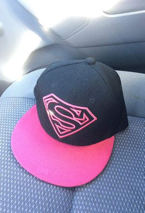 Superman Snapback hat, Pink for Sale in Winters, CA