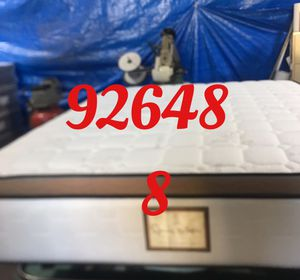 "12"" thick foam Encase 1 Sided Pillow Top mattress. Not rebuild. All new materials. Price includes tax and local delivery. Cash only. Twin Mattre for Sale in Huntington Beach, CA"