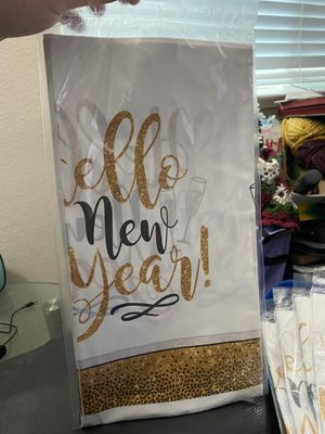 New New Years Eve Hello New Year Tablecover! for Sale in Pittsburg, CA