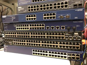 Gigabit Switches: Linksys, Netgear & Dell for Sale in Washington, DC