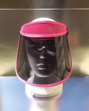 Tinted pink visor face shield for Sale in Chino, CA