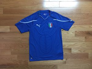 Puma Italy Italia FIGC Football Soccer Jersey Shirt for Sale in Boston, MA