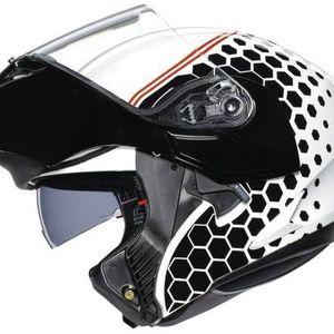 Helmet: AGV Compact ST Helmet Detroit White / Black for Sale in Seattle, WA