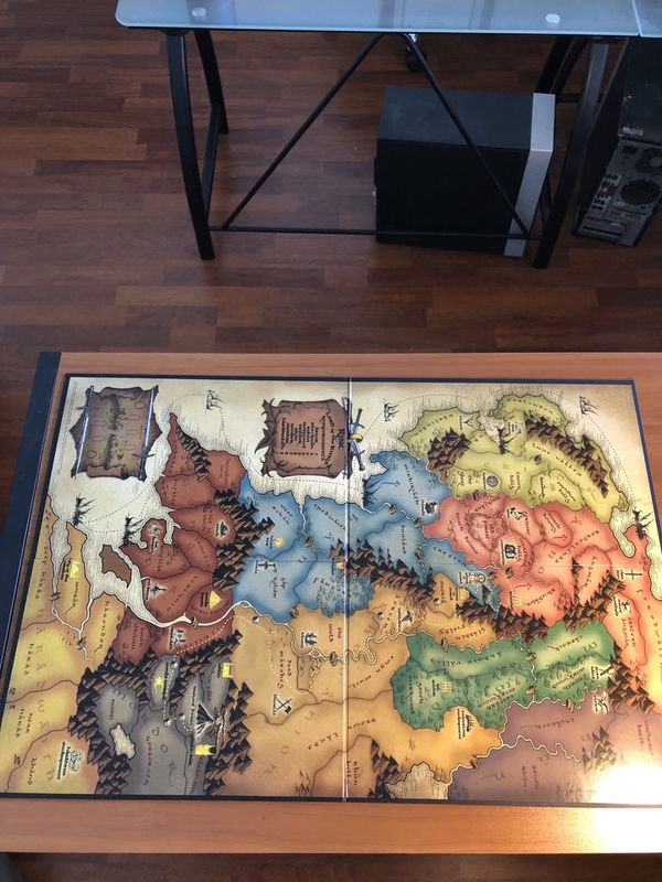 Lord of the Rings Risk Trilogy Edition COMPLETE: RING + INSTRUCTIONS