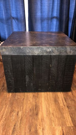 "Arhaus ""Black Grain"" Thayer Cube for Sale in Annandale, VA"