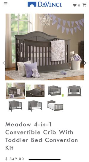 Davinci Convertible Crib and matching 6 drawer dresser for Sale in Windsor Hills, CA