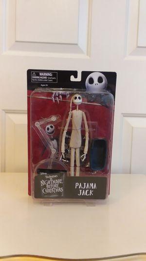 Disney Tim Burton's The Nightmare Before Christmas Pajama Jack Action Figure for Sale in North Las Vegas, NV
