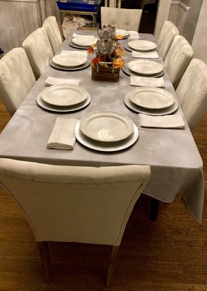Pottery Barn Table and 8 Chairs for Sale in Seminole, FL